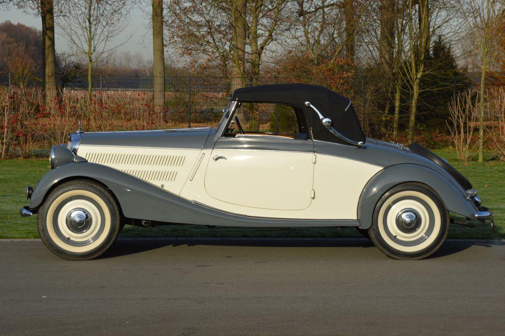 Classic park cars mercedes benz 170 v a w136 cabriolet for Mercedes benz winter park